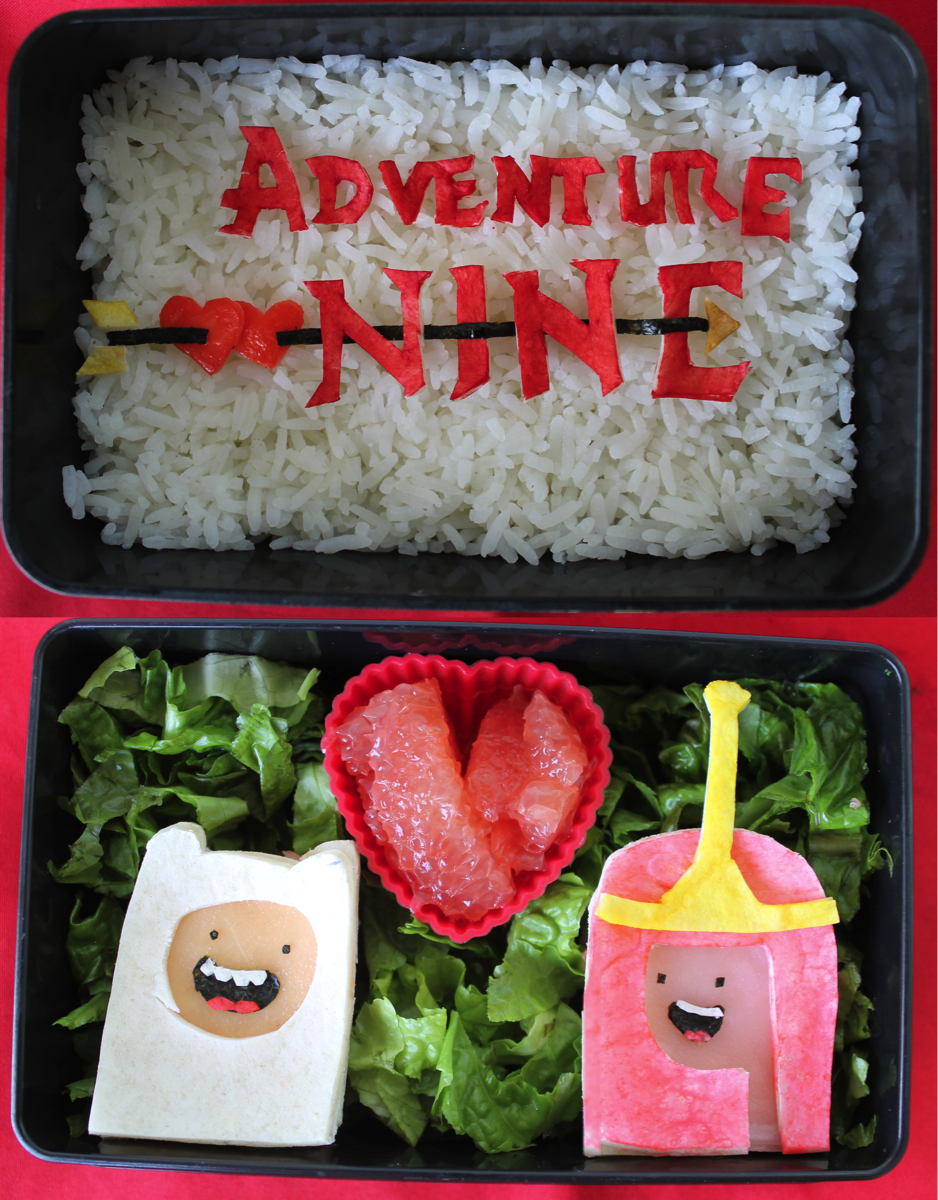 WHAT THE LUV: Adventure Time Anniversary Bento by mindfire3927