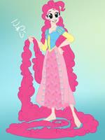 MLP:FiM Disney crossover Pinkie Pie by the-epicteer