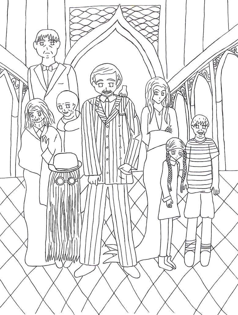 The Addams Family By Nightwind Dragon On Deviantart