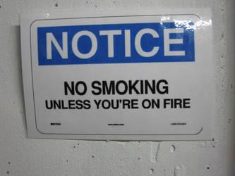 NO SMOKING by Nightwind-Dragon