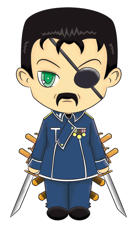 Chibi King Bradley Colored by sakuradesune