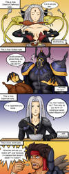 Ways of Eating Dissidia Style by grandchaosSR