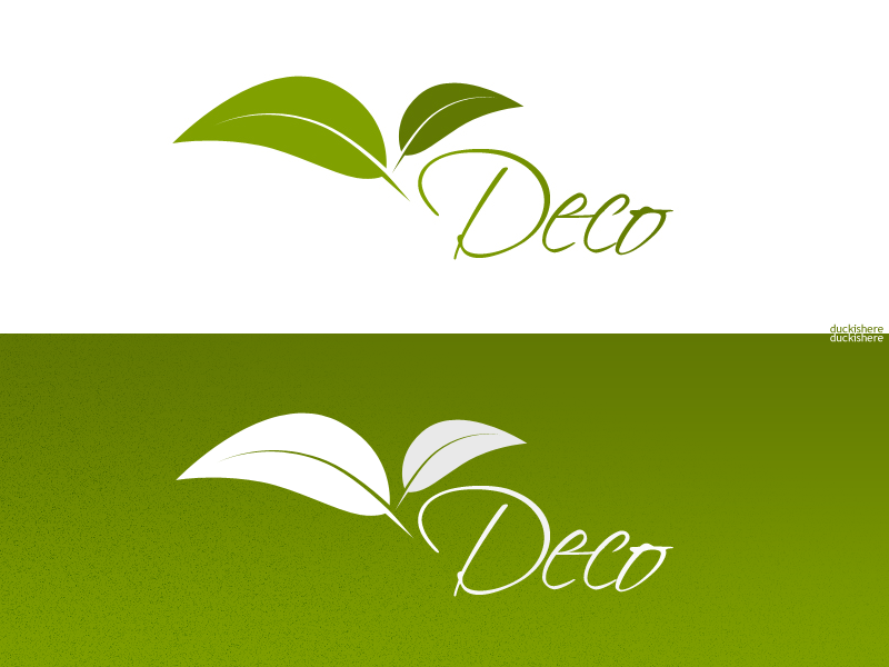 Deco leaves by duckishere