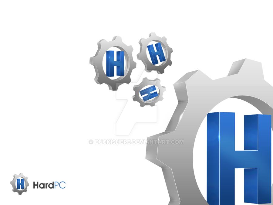 HardPC logotype by duckishere