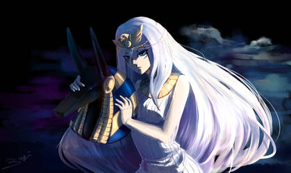 Yugioh: Priestess Neftis by Yamineftis