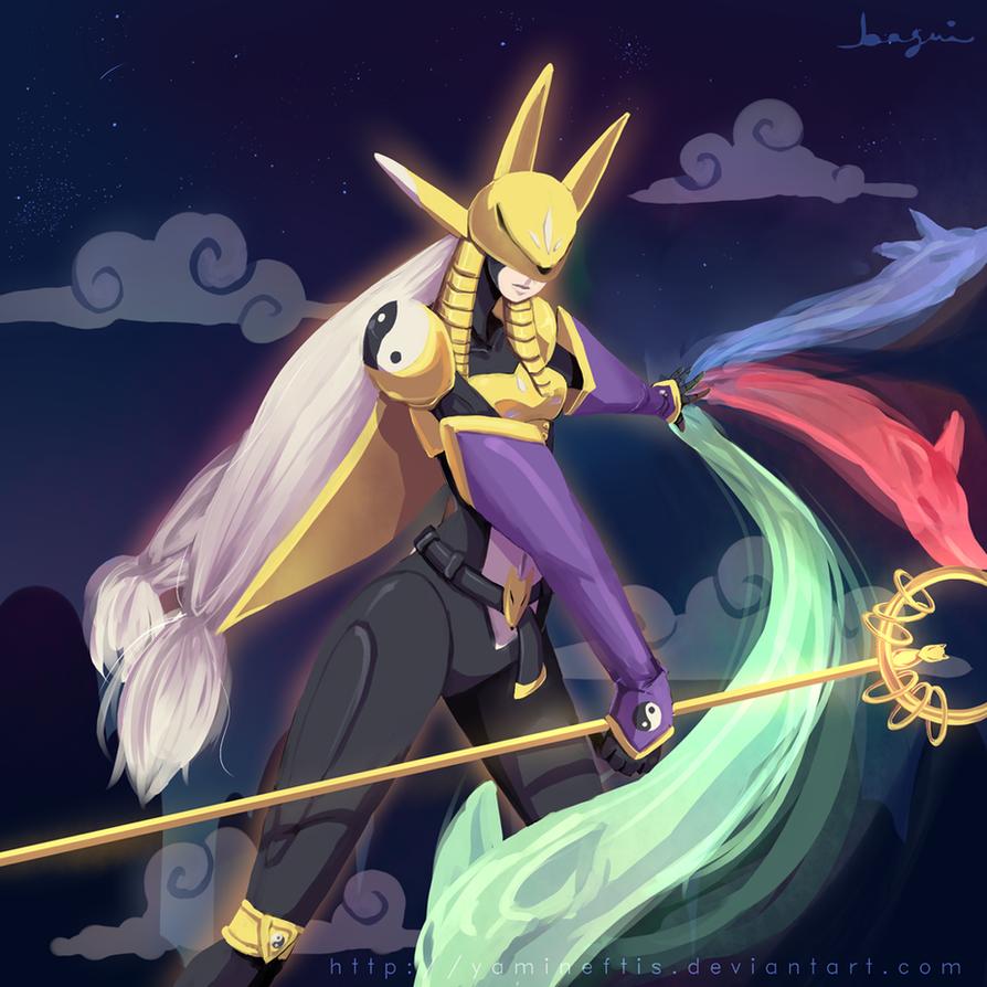 Digimon: Sakuyamon by Yamineftis