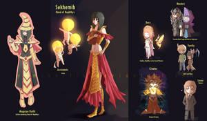 Yugioh: Sekhemib -Oc- by Yamineftis