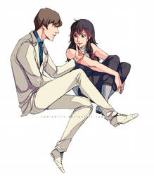 Comission: Kuri and Seto