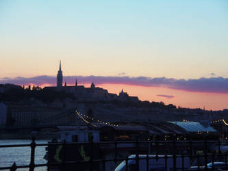 Budapest Skyline by Rissa90