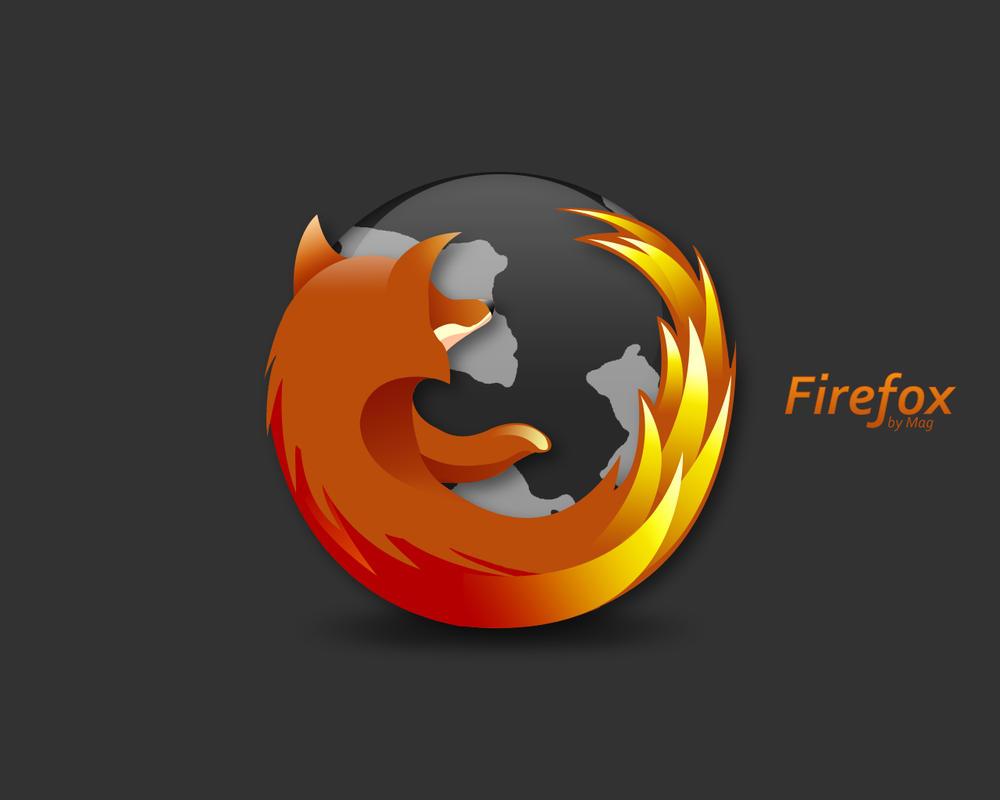 Simple Firefox  wallpaper