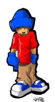 Lil Thug Sketch Airbrush Wacom by himynameiznate