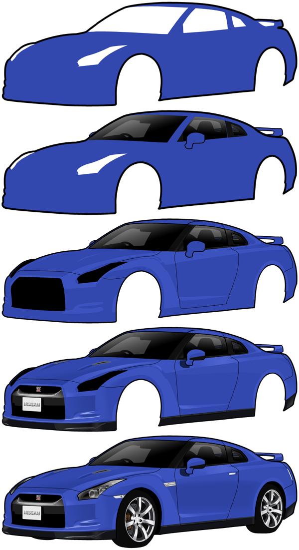 Nissan GT-R W.I.P. by paulobecker