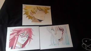 Bakugo, Grell, Yoko Kurama