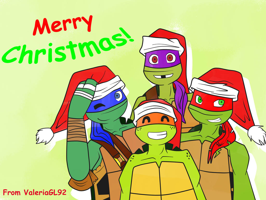 Tmntchristmas explore tmntchristmas on deviantart jaessjinx 65 43 merry christmas 2014 by valeriagl92 sciox Image collections