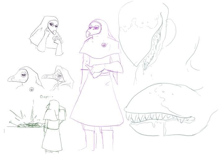More Random concept doodles for FaV