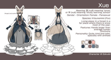 Xue Reference by Gokuist