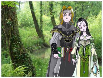 The Secret Forest by ARCADRIEL
