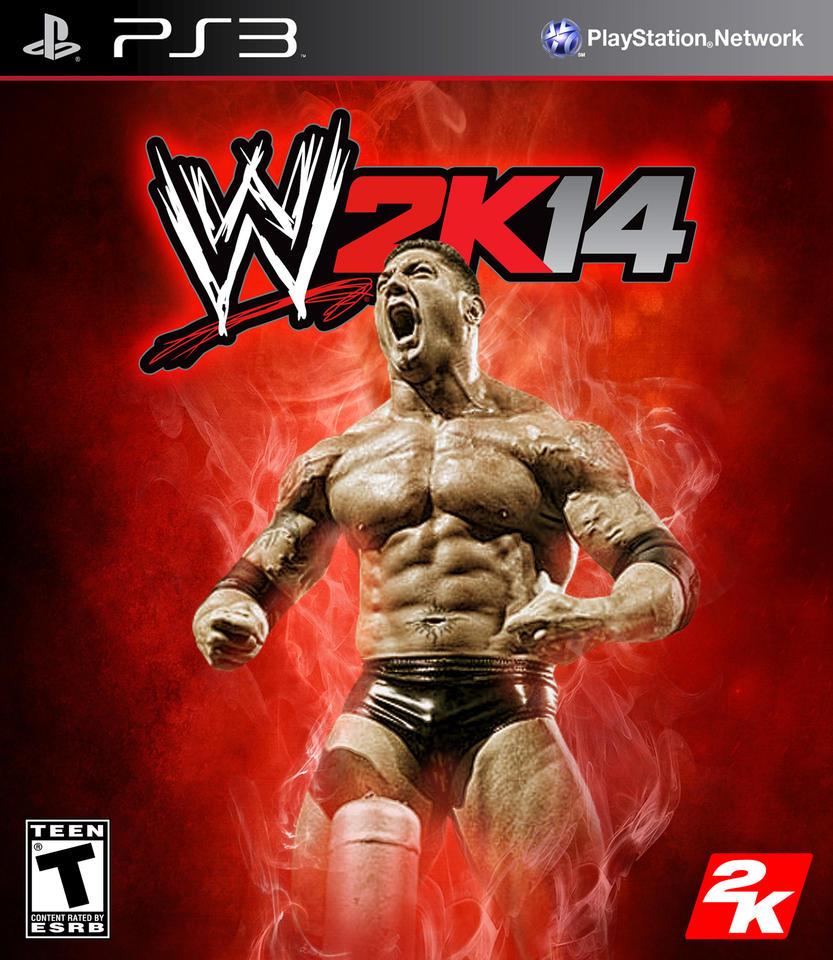Wwe 2k14 Batista WWE 2K14 Batista by cn...