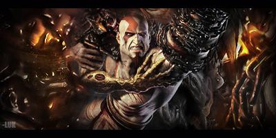 Kratos by LukasTw