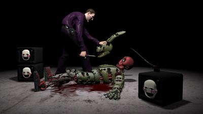The Springlocked Killer by Tecpix-Kawai
