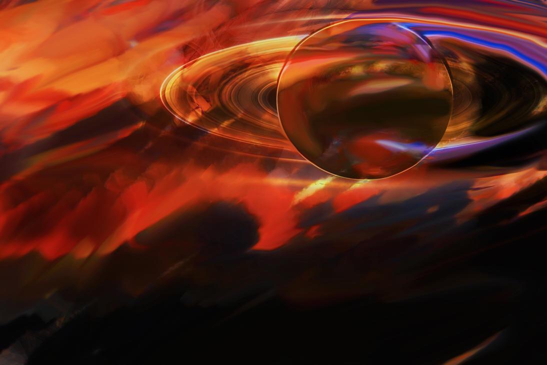 Rings at dawn by lilyputin