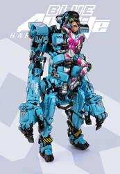 Blue Apatite Hardsuit