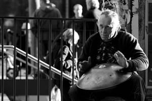 Street Musician. by karlomat
