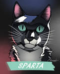 Pet portrait sample 2 by Respeanut