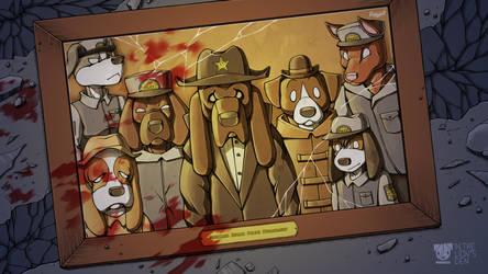Fallen hound by Respeanut