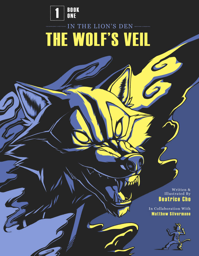 The Wolf's Veil cover (NEW AND FINAL)