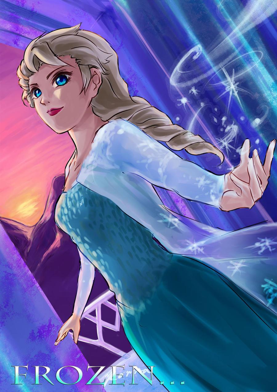 Frozen FA : Elsa by CCKonna