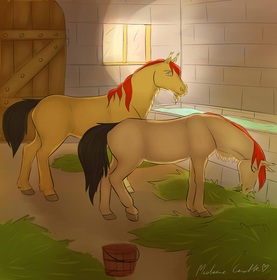 golden_horses_from_al_hassan_stable_by_iustinianiearchers-da4hmna.jpg