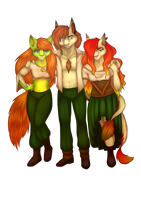 [ TRIO ] My luck is named Carotte! by Marchef-Iustinianie