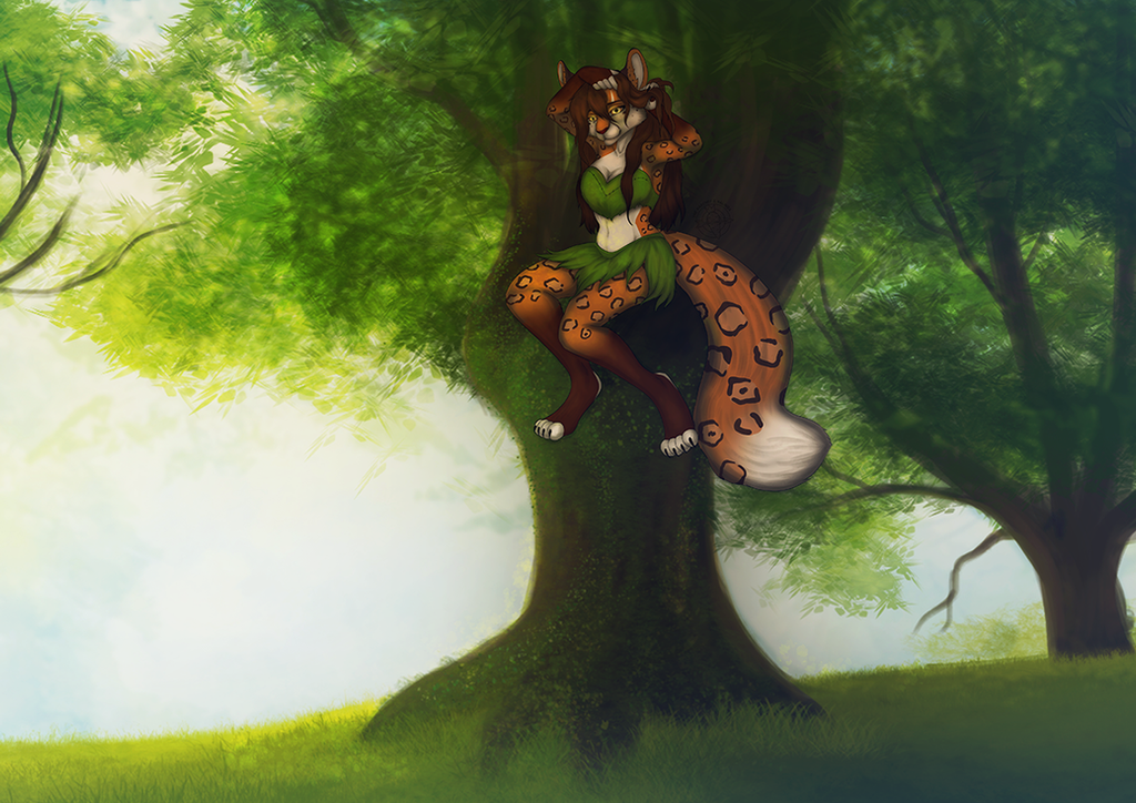 [ YCH AUCTION FINISHED ] Combing by Marchef-Iustinianie