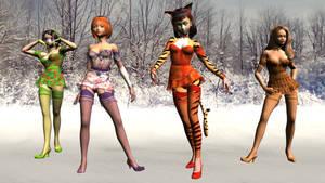 Christmas Maids