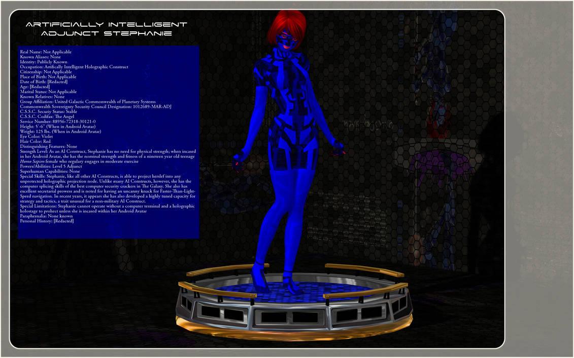 Profile:Artificially Intelligent Adjunct Stephanie