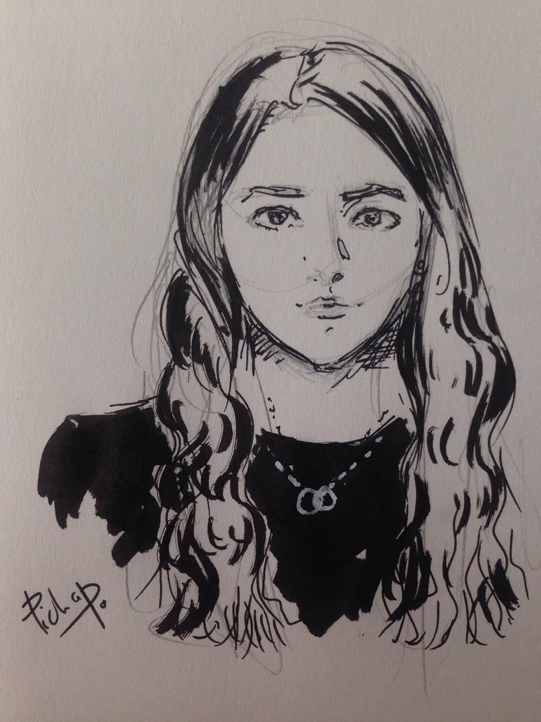 Ink sketch by Pichapo