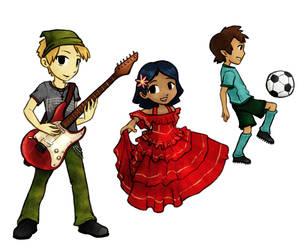 Music Dance Sport by tsuta