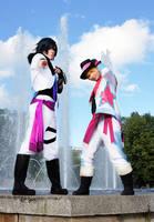 Tokiya and Syo (Utapri) by Stray-Cat-Yoru
