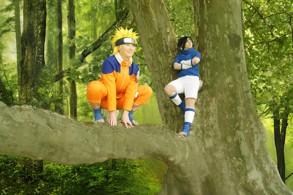 Let's go, Sasuke!!! by Stray-Cat-Yoru