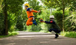 Naruto and Kakashi (Cosplay)