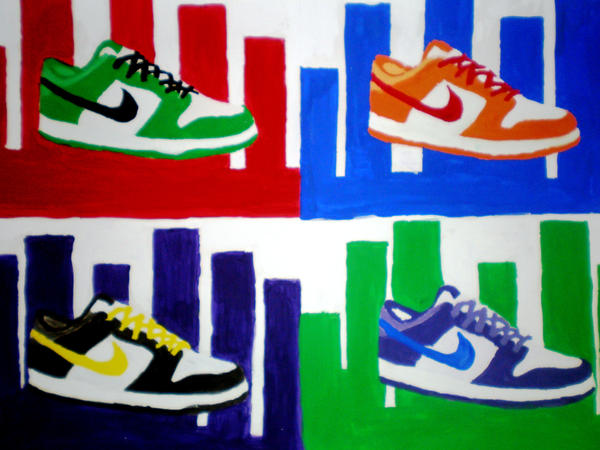Nike shoes by madds23 on DeviantArt