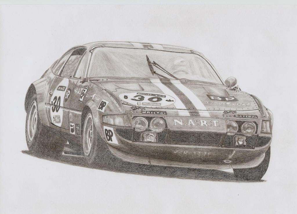 Ferrari 365 GTB/4 Competizione by Samipie