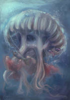 Jellyfish For Ash by BloodyWing