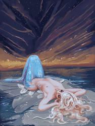 Fay / Spring Mermaid by BloodyWing