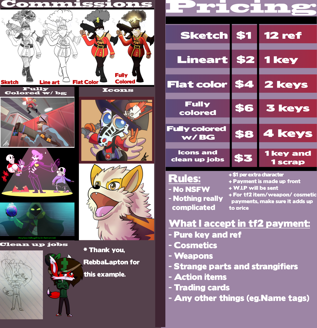 Commission chart 2016 *UPDATED 11/06* by FlightBotJetwing