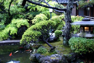 Kamishichiken Kaburenjo garden by Fuyou-hime