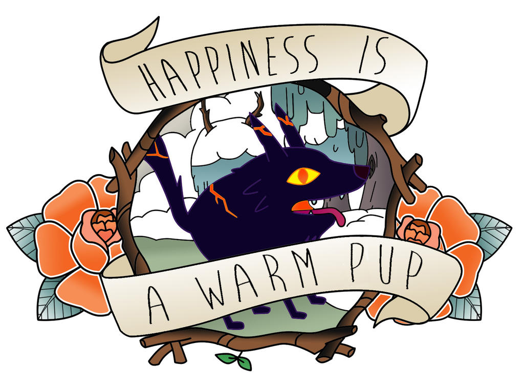Happiness Is A Warm Pup by NocturneKitty