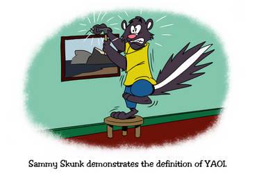 Sammy Skunk Demonstrates Yaoi