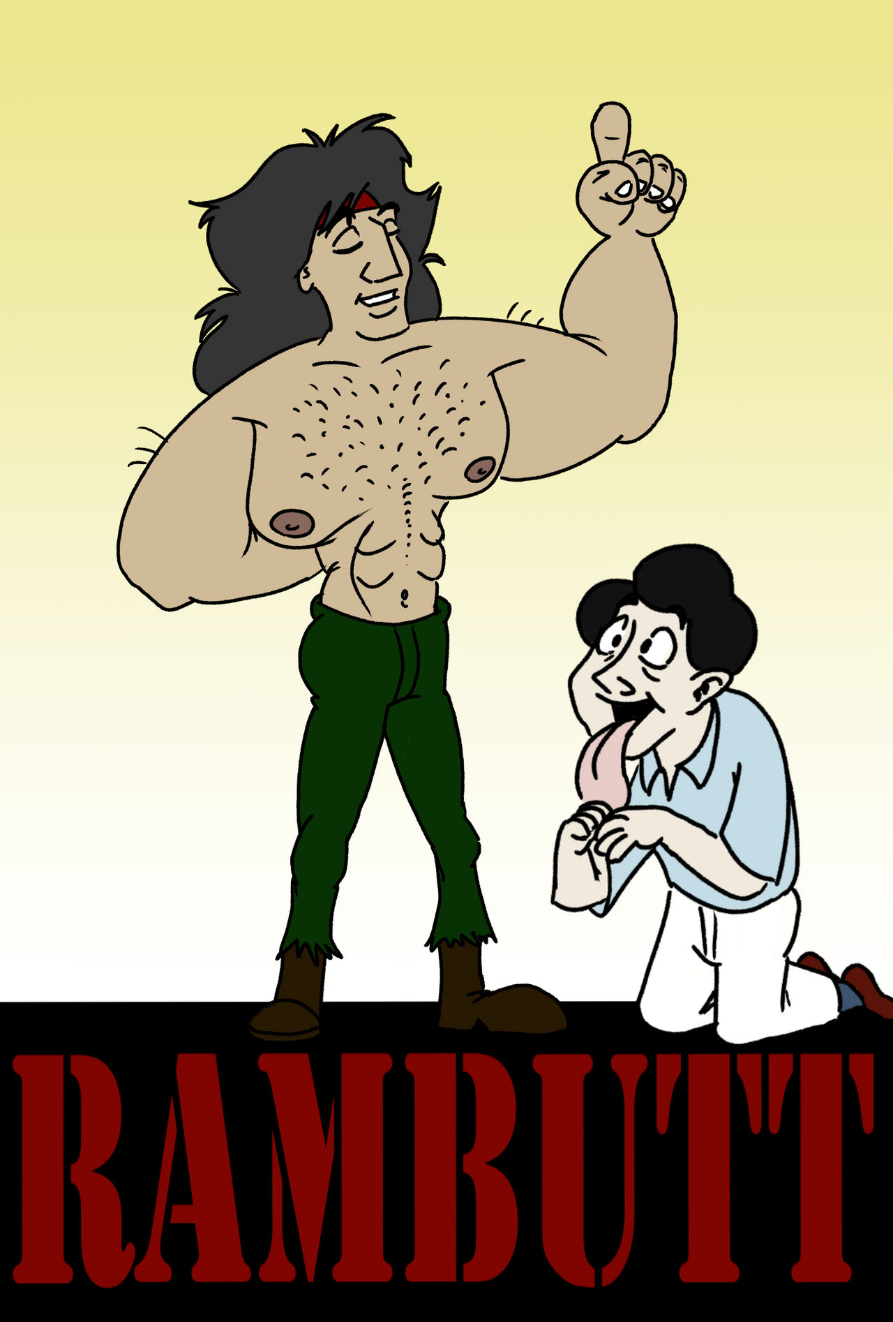 Rambutt starring Sylvester Stallone and Rock Hudso